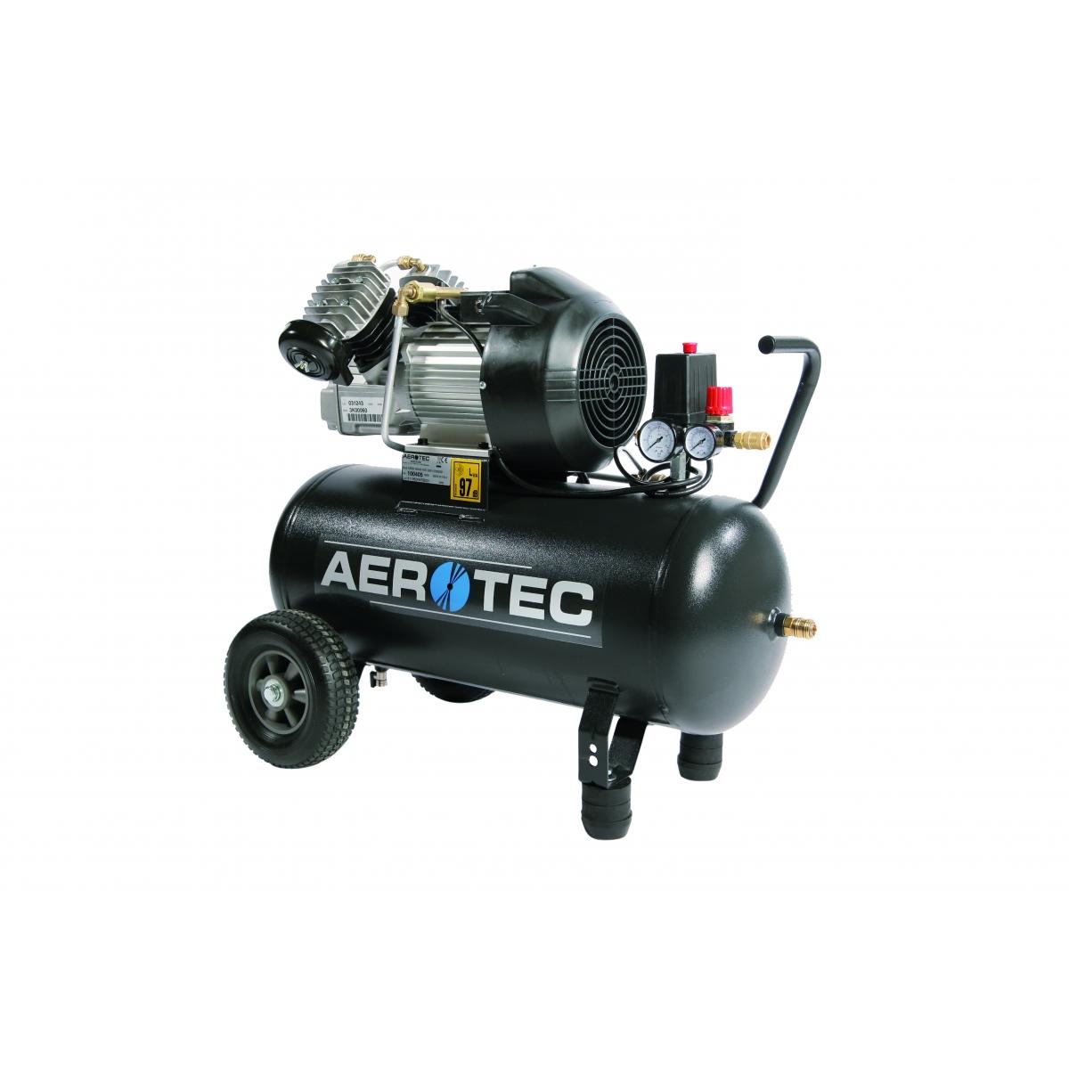 aerotec druckluft kompressor kolbenkompressor lgeschmiert 230 volt. Black Bedroom Furniture Sets. Home Design Ideas