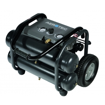 Aerotec Druckluft Kompressor Kolbenkompressor fahrbar Montage 230 V