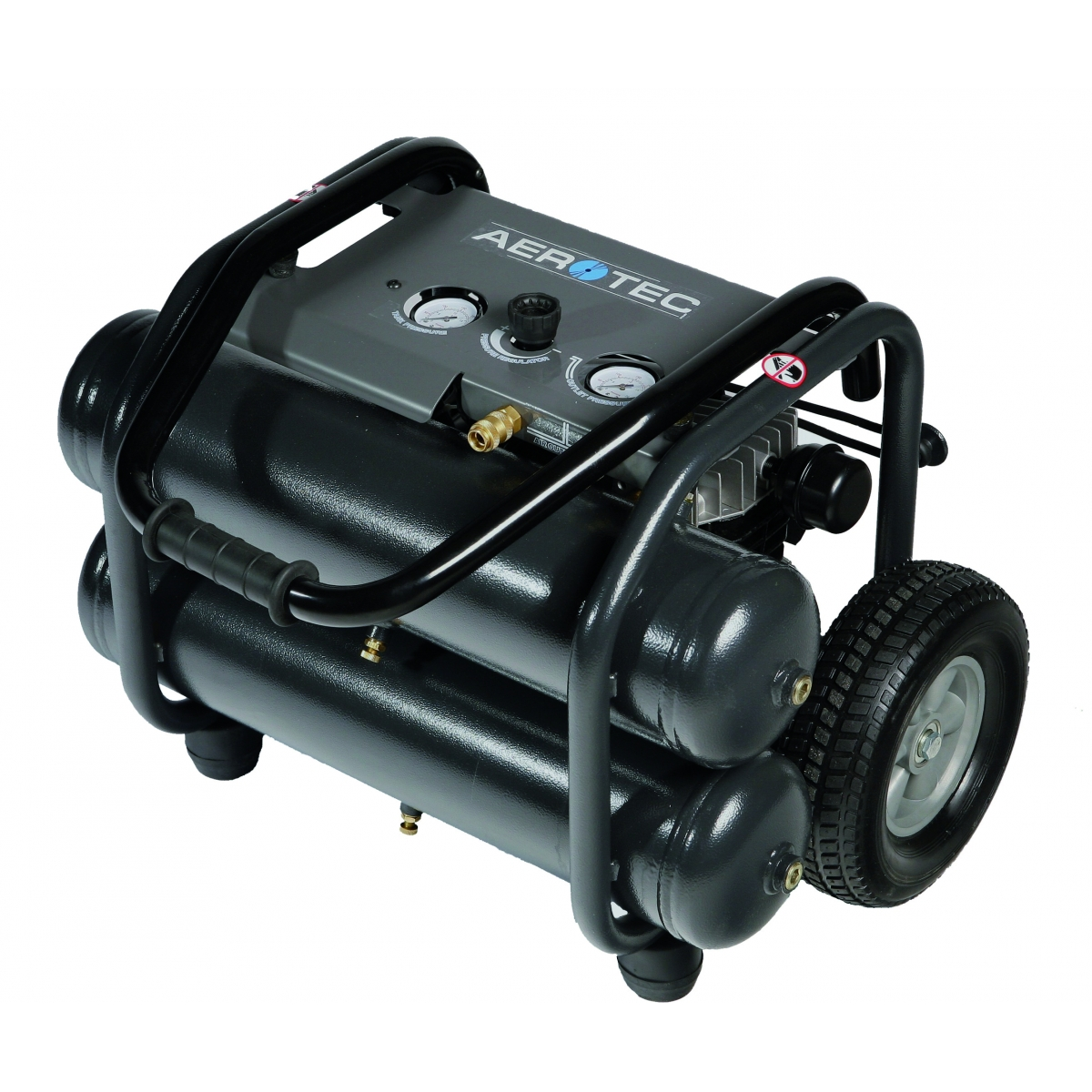 aerotec druckluft kompressor kolbenkompressor fahrbar montage 230 v. Black Bedroom Furniture Sets. Home Design Ideas