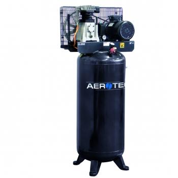 Aerotec Druckluft Kolben Kompressor kompakt 2 Zylinder stehend 400 V