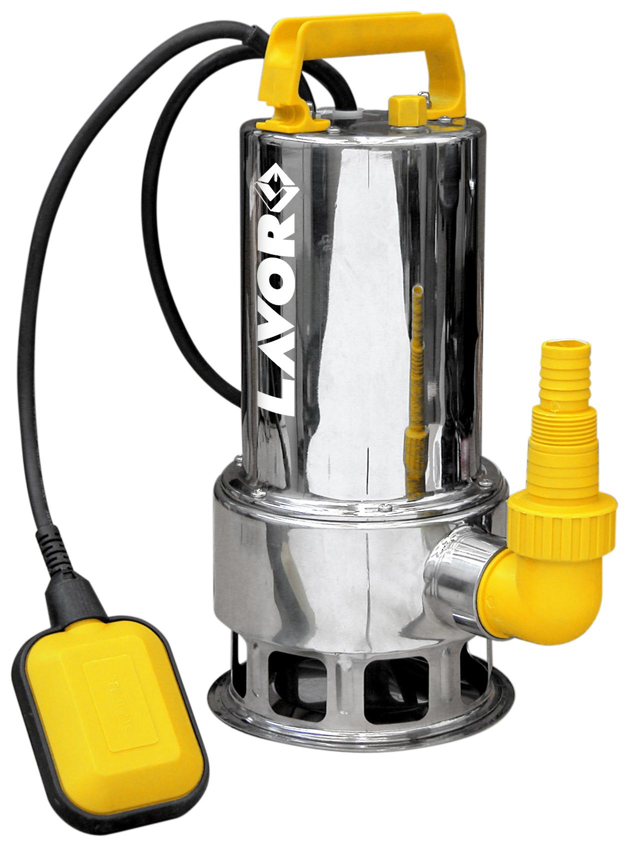 LAVOR Schmutzwasserpumpe Tauchpumpe Wasserpumpe INOX Gehäuse EDS-PM 12500