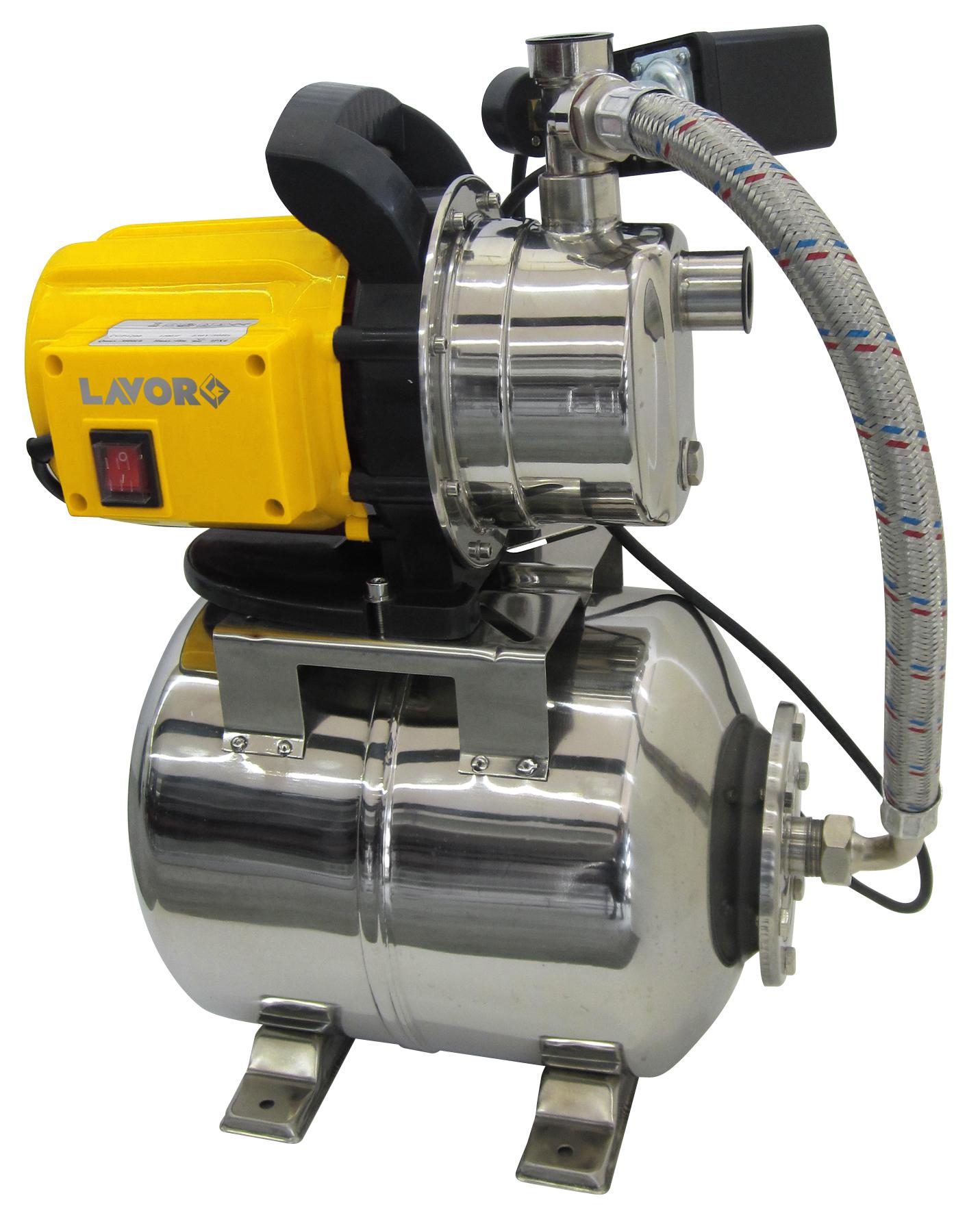 LAVOR Hauswasserwerk Wasserautomat Wasserpumpe Pumpe Inox EG-MS 3800