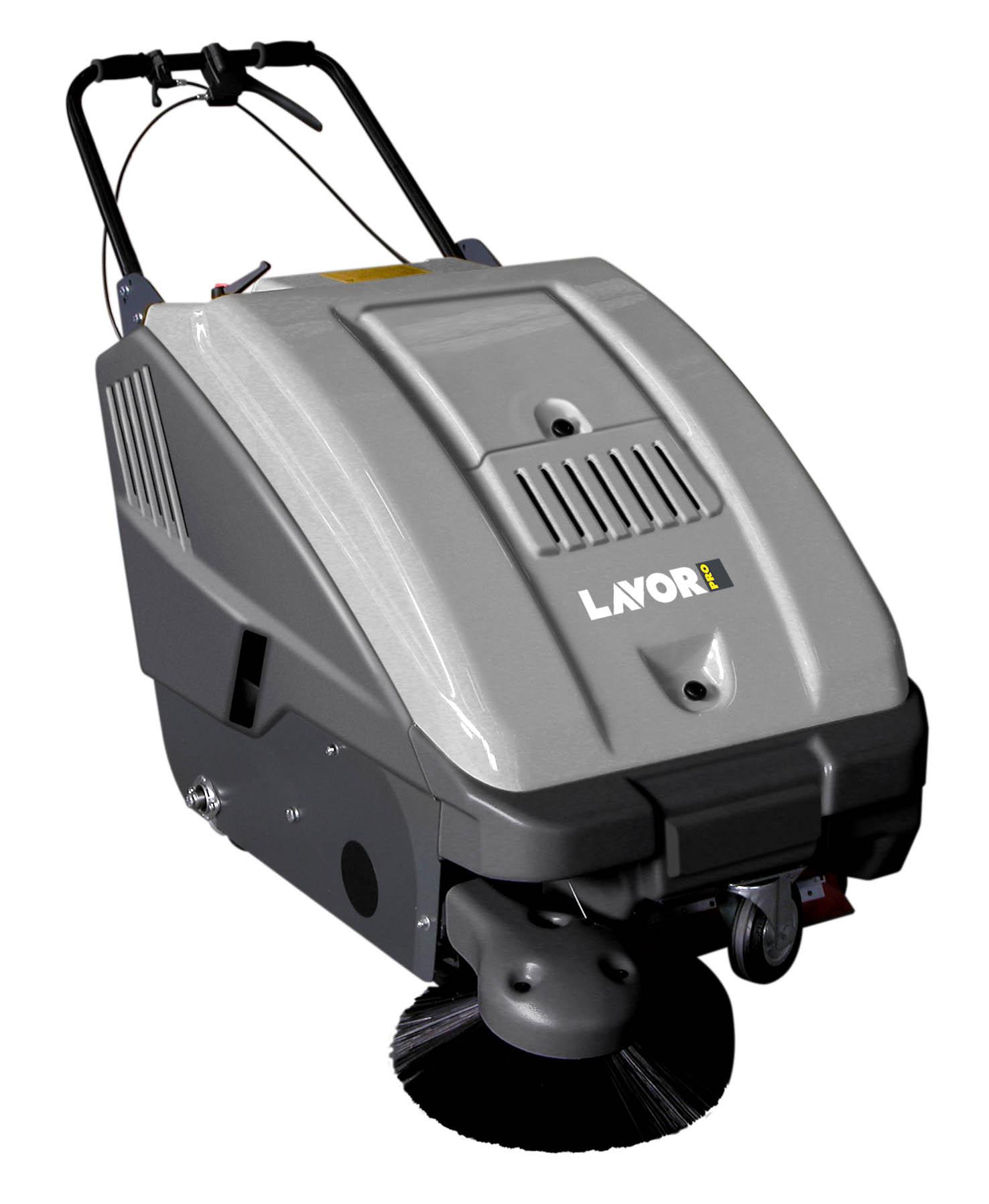 LAVOR-PRO Kehrmaschine Handkehrmaschine Kehrbesen Elektro Besen SWL 700 ET
