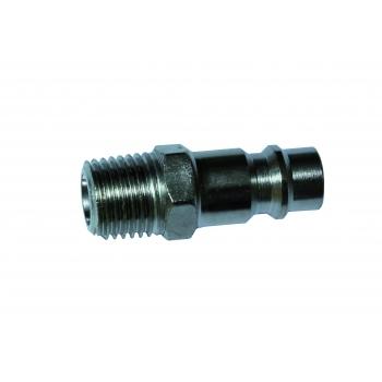 """Druckluft Kompressor Schnellkupplung Stecknippel Fitting AG 1/4"""""""