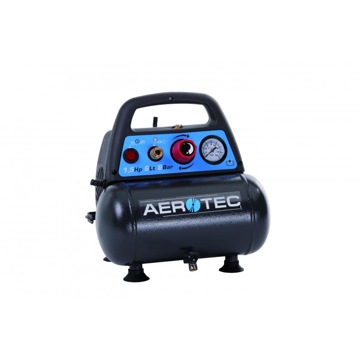 aerotec druckluft kolbenkompressor kompressor tragbar lfrei. Black Bedroom Furniture Sets. Home Design Ideas