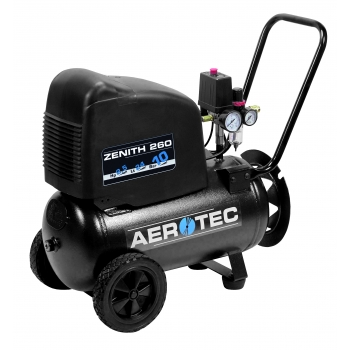 Aerotec Druckluft Kompressor Kolbenkompressor Zenith 260  ölfrei