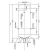 Druckluftkessel 270 L stehend - 11 bar - gepulvert
