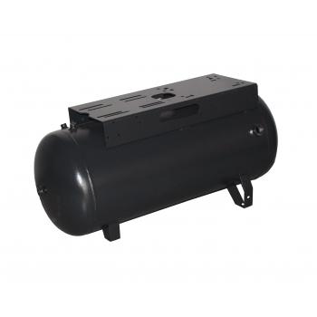 Druckluftkessel 90 L liegend  - 11 bar mit  breiter Konsole 2 stufig OHN