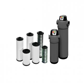 Aerotec  Aktivkohlefilter 1000 NL  0,003 MIC Feinstfilter Druckluft