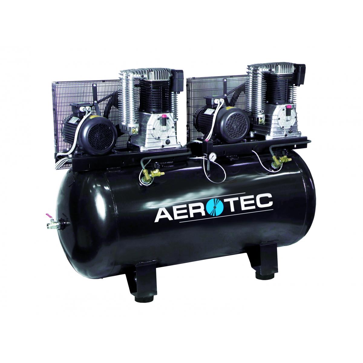 aerotec tandemkompressor kompressor tandem 500 l 4 kw. Black Bedroom Furniture Sets. Home Design Ideas
