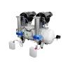 AEROMEDIC Tandem Kompressor Druckluft mit Trockner ölfrei Zahnarzt