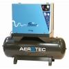 ölgeschmiert liegend Silent Kompressor Aerotec 270 L Kessel 10 bar