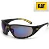 Schutzbrille Tread105  CAT blau